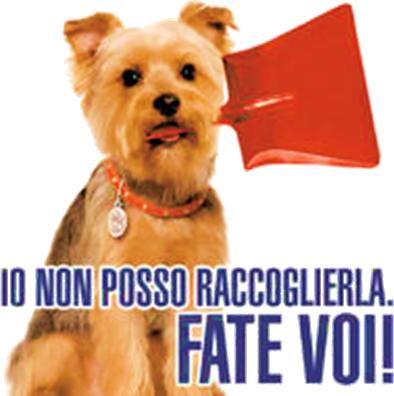 Immagine Cagnolino con paletta